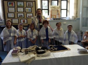 Visit from local rabbi